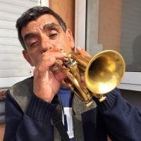 Gibraltar Street Musician by bensonga in bensonga