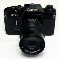 Canon F-1 With 135mm F2.8 Fd Lens by bensonga in bensonga