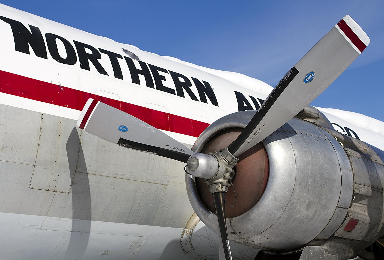 Northern Air Cargo Dc-6 by bensonga in bensonga