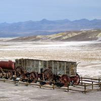 Borax Wagon Train Death Valley Np by bensonga