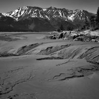 Bird Point Mud Flats At Low Tide V2 by bensonga