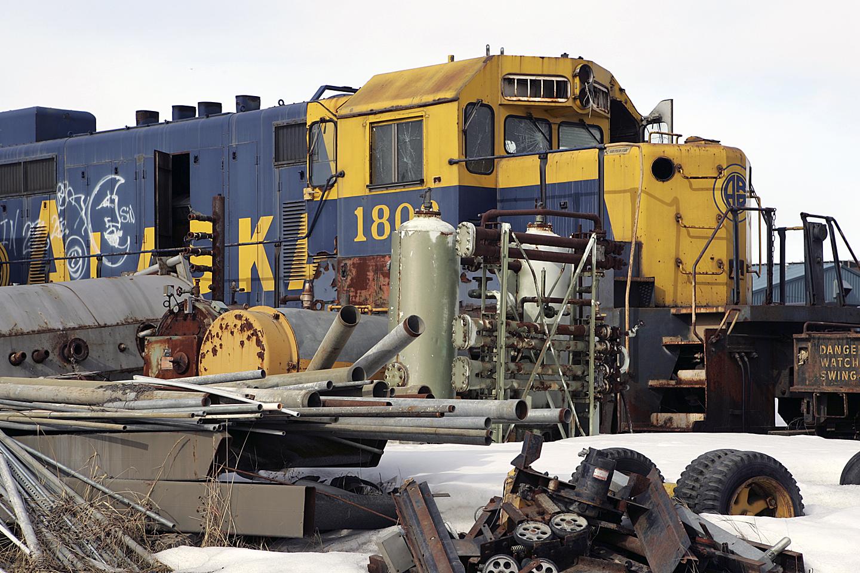 Alaska Rr Engine 1802 by bensonga in bensonga