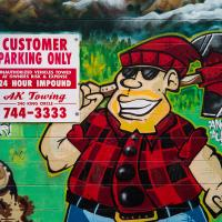 Pete's Smoke Shop Mural by bensonga