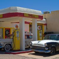 Lowell Shell Station by bensonga in bensonga