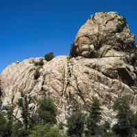Prescott Granite Boulders by bensonga