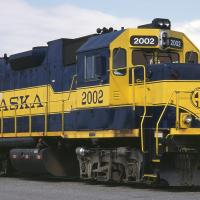 Alaska Railroad Engine 2002 by bensonga in bensonga