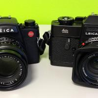 Leicaflex Sl2 And Leica R6.2 by bensonga