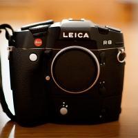 Leica R8 With Motordrive by bensonga in bensonga