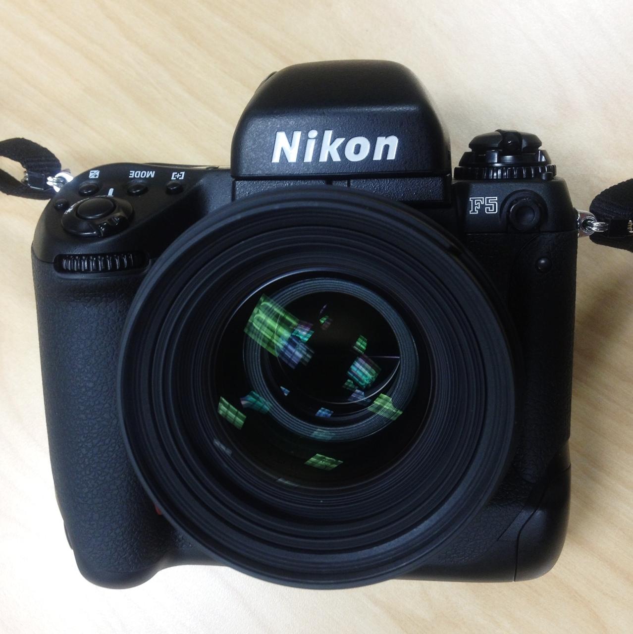 Nikon F5 With Sigma 50mm F1.4 Lens by bensonga in bensonga