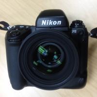 Nikon F5 With Sigma 50mm F1.4 Lens by bensonga
