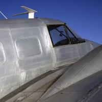 Twin Engine Silver Plane by bensonga