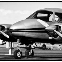 Twin Engine Beechcraft by bensonga in bensonga