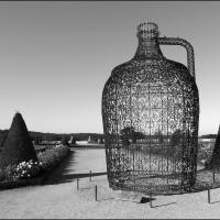 Sculpture in Gardens of Versailles by bensonga