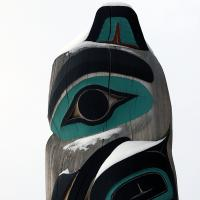 Alaska Totem Pole by bensonga in bensonga