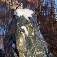 Stone in BP Courtyard by bensonga in bensonga