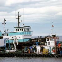 Island Warrior Barge by bensonga