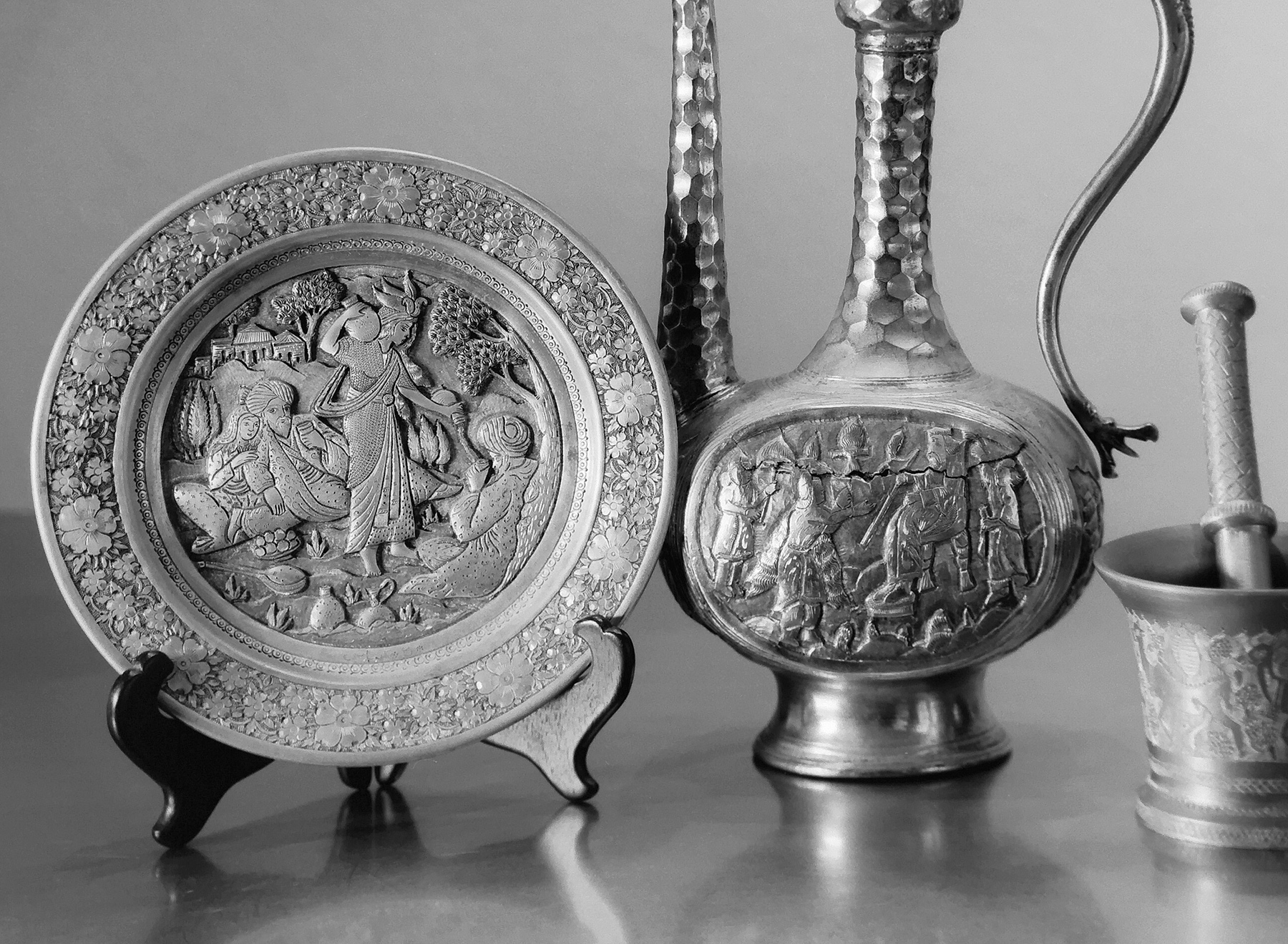 Table Top Objects from Iran by bensonga in bensonga