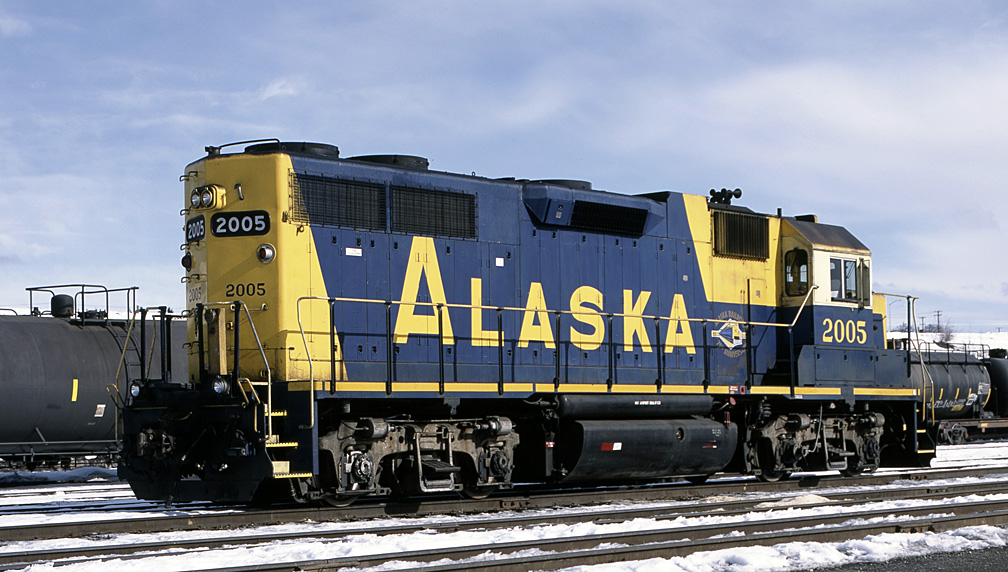 Alaska Rr Engine No. 2005 by bensonga in bensonga