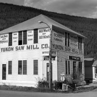 Yukon Saw Mill 06-2008 Bw-1 by bensonga in bensonga