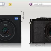 Zeiss ZX1 vs Leica Q Size Comparison by bensonga
