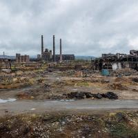 Soviet-era Kremlkovtzi Steel Mill, Near Sofia, Bulgaria by TimothyHyde in Regular Member Gallery
