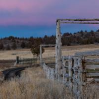 Grayman Stables, Near Post, Oregon by TimothyHyde