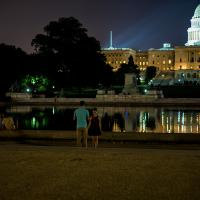 Warm Summer Night At The Capitol by TimothyHyde