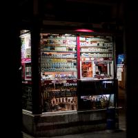 Corner Cigarette Stand, Sofia by TimothyHyde