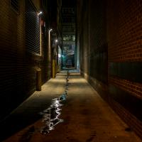 Alley In Washington, Dc by TimothyHyde