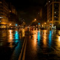 K Street, Washington Dc, An Hour Before Daybreak by TimothyHyde in Regular Member Gallery